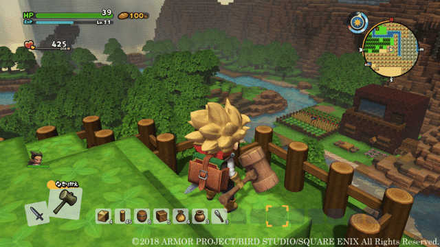 Dragon Quest Builders 2 Character Customization