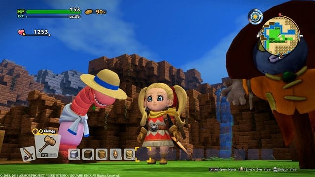 Dragon Quest Builders 2 Worm Food