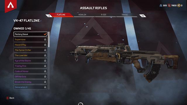 Flatline gun Apex Legends