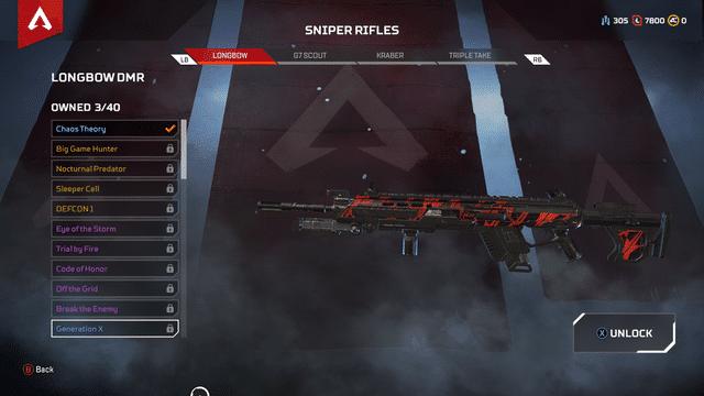 Longbow gun Apex Legends