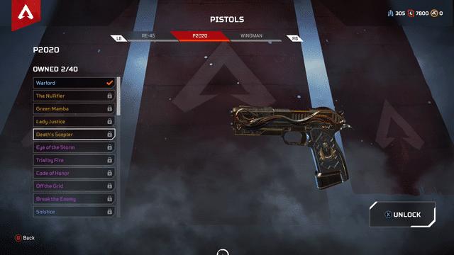 P2020 gun Apex Legends