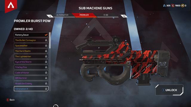 Prowler gun Apex Legends