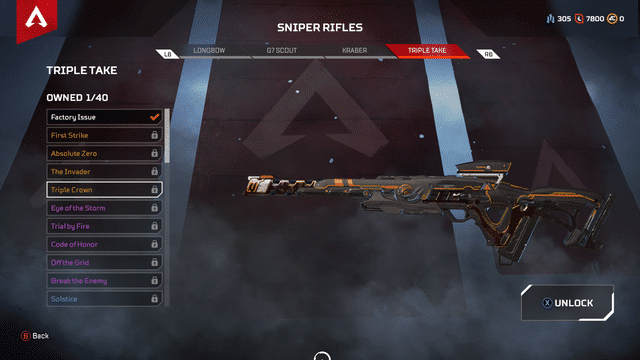 Triple Take gun Apex Legends