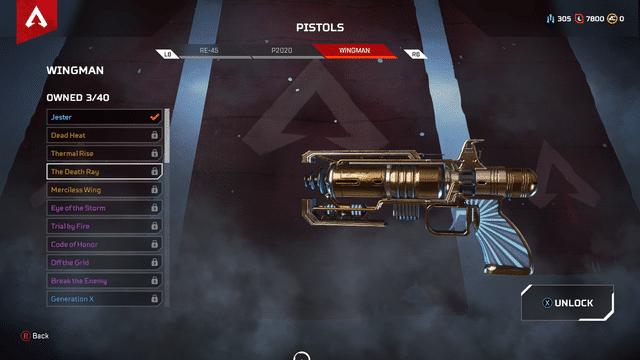 Wingman gun Apex Legends