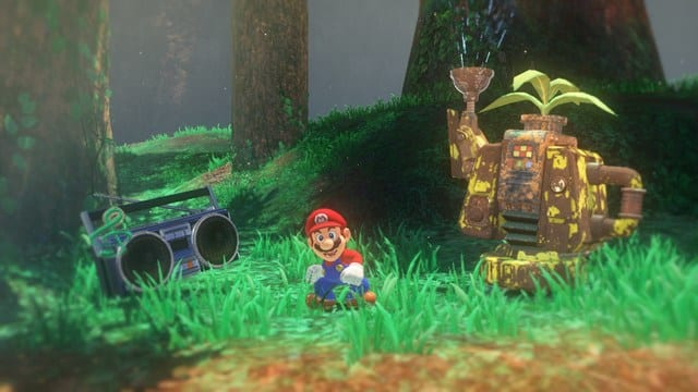 play as Luigi in Super Mario Odyssey