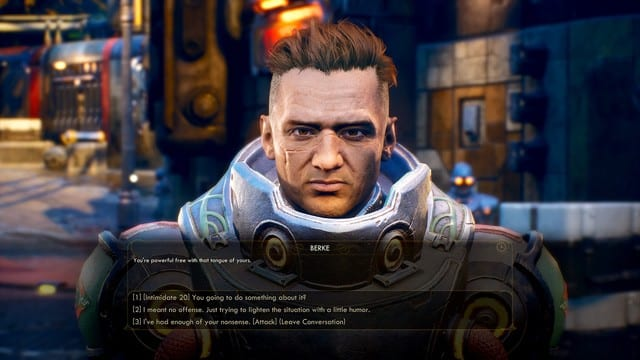 The Outer Worlds Text