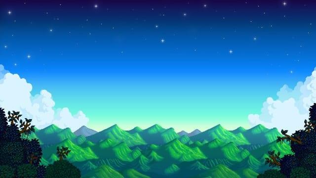 Stardew Valley Purple Star