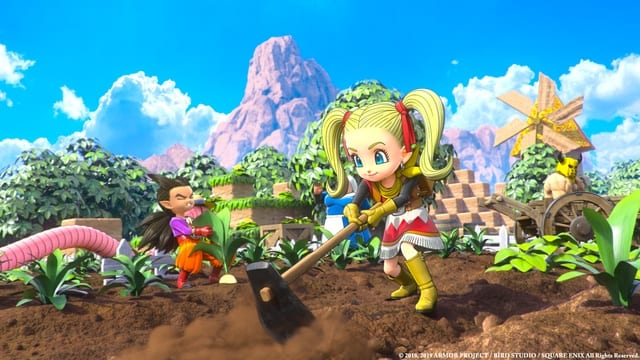 Dragon Quest Builders 2 Milk