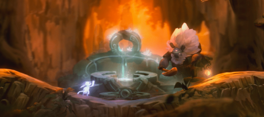 Ori and the Will of the Wisps Fast Travel