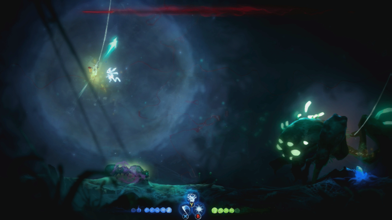 Ori and the Will of the Wisps Spider Boss Fight