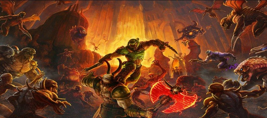 DOOM Eternal content still pending install