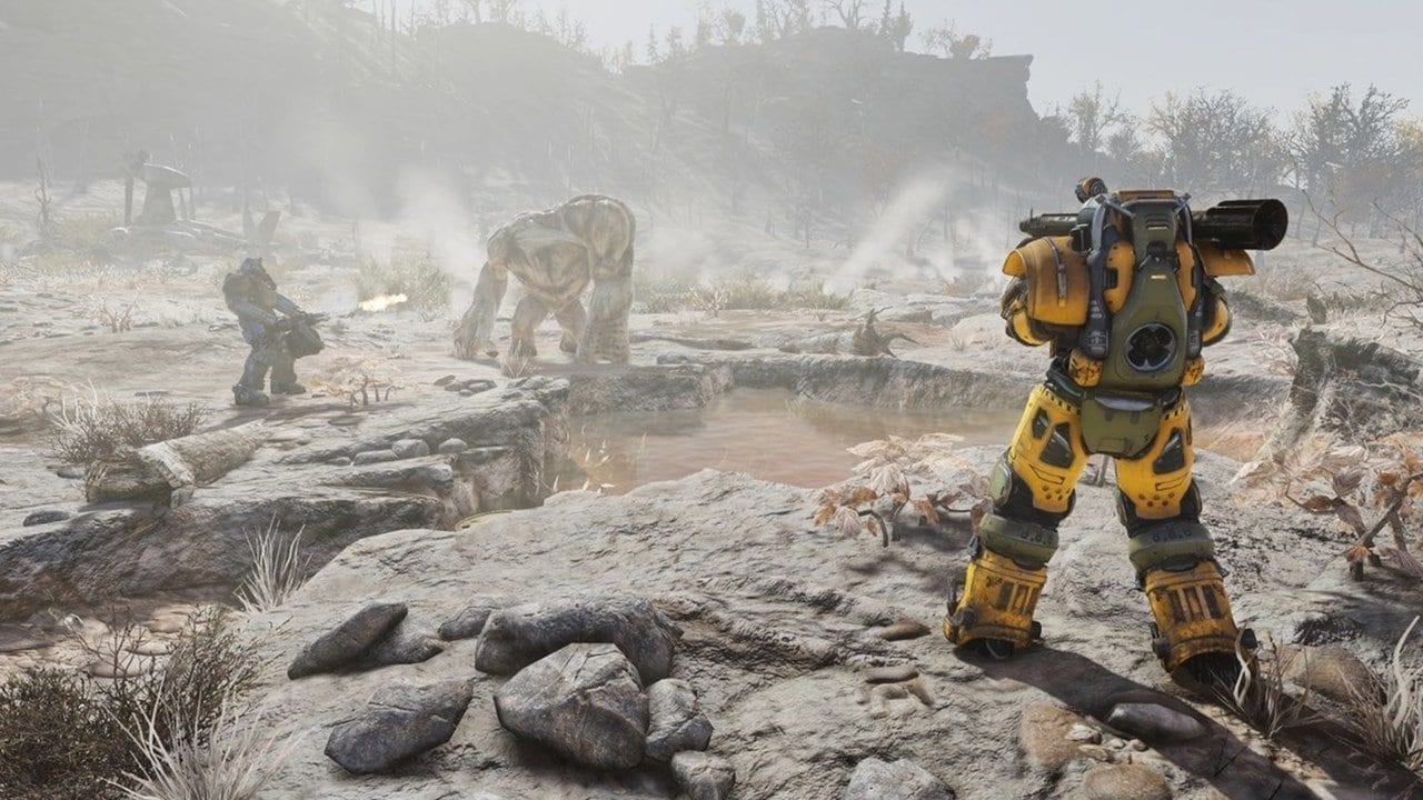 Fallout 76T-65 Secret Service Armor
