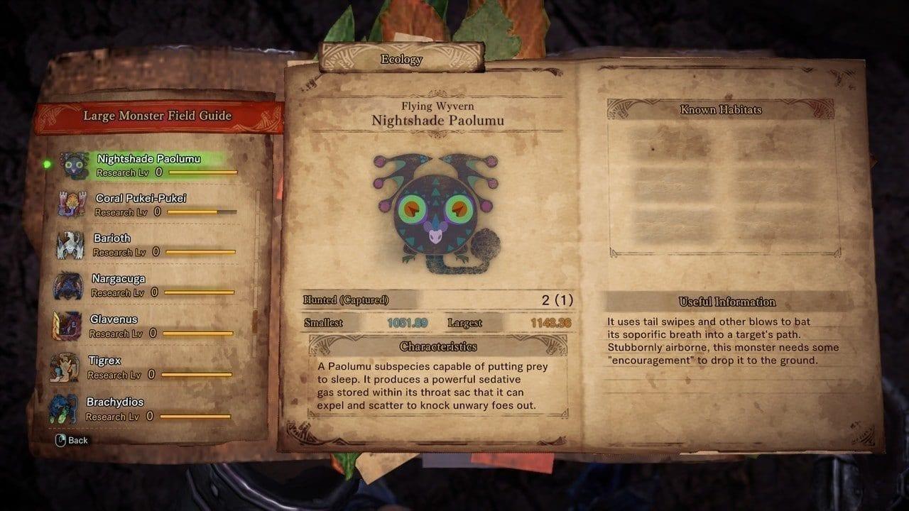 Monster Hunter World NightShade Paolumu