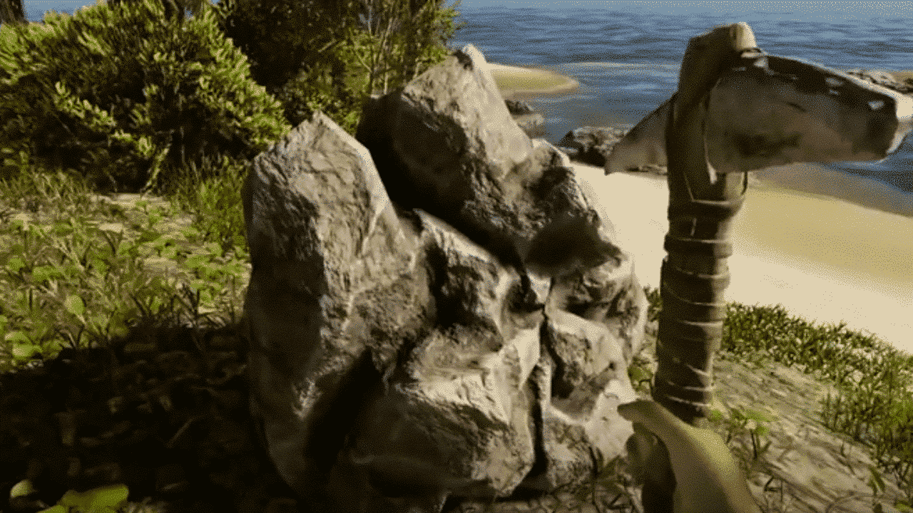 Stranded Deep Stone Deposits and Pick