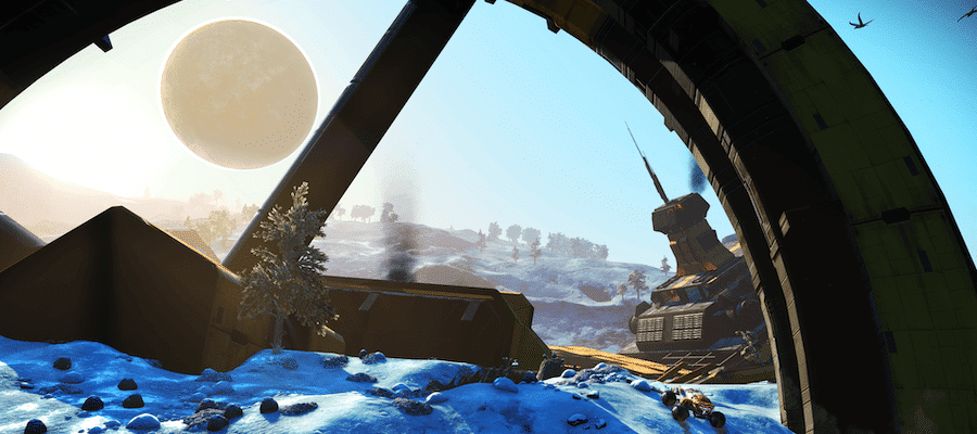 No Man's Sky How to Get Exocraft