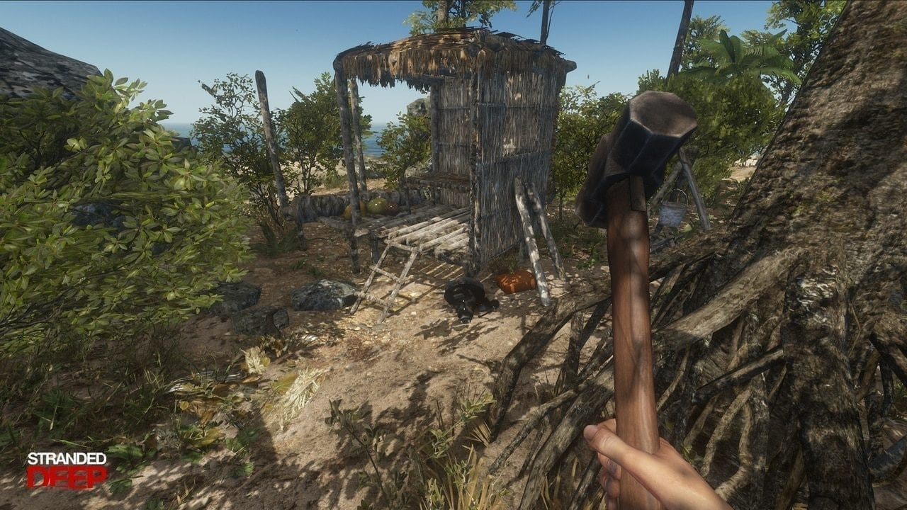 how to build a house in Stranded Deep