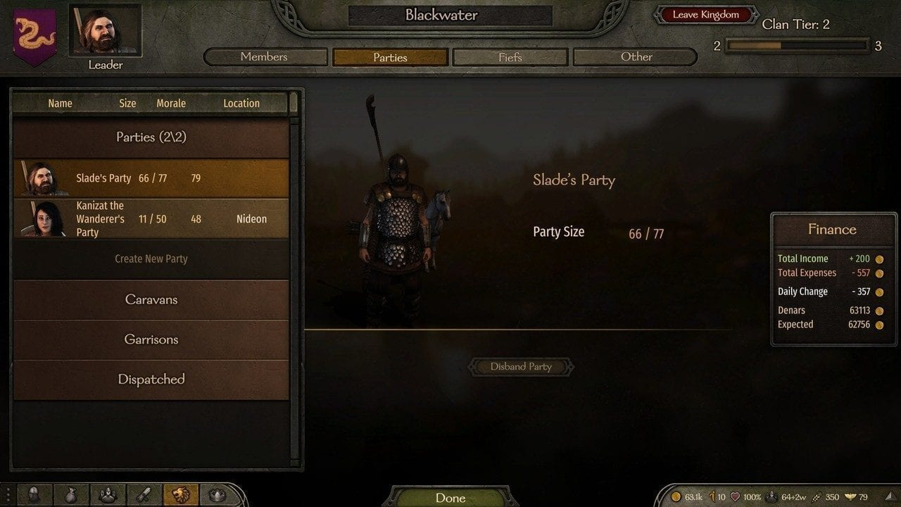 How to Level Leadership in Bannerlord
