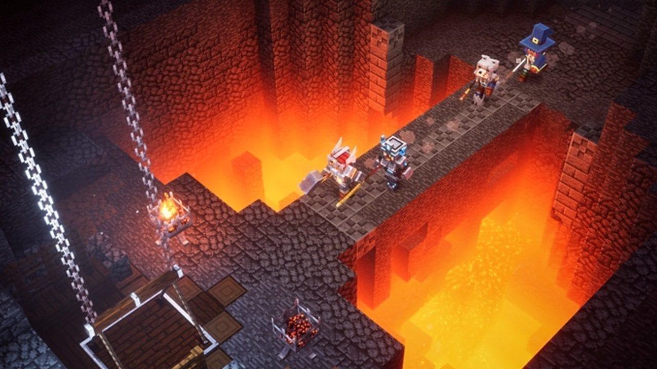 Minecraft Dungeons Spider Armor