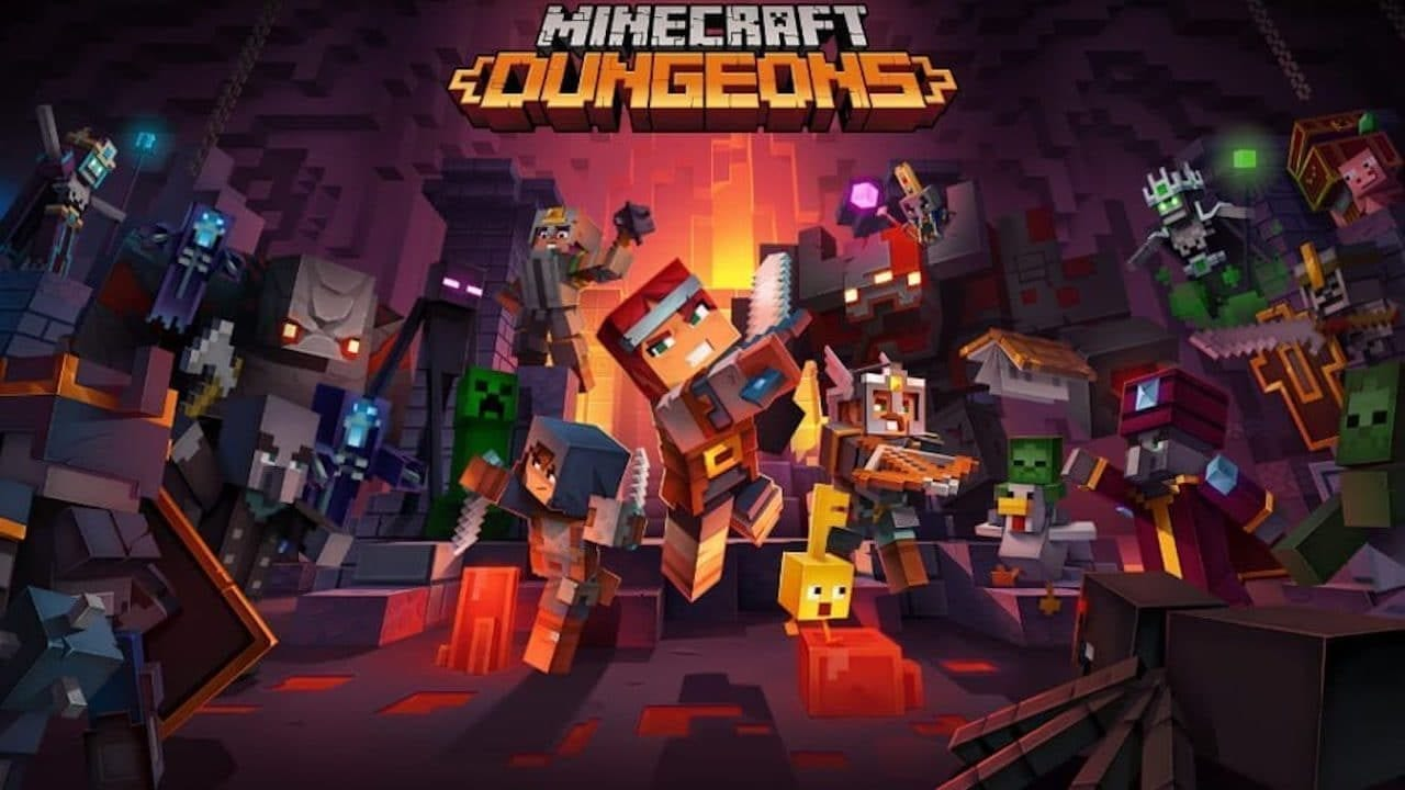 Minecraft Dungeons How Many Players Does It Support? Unique Weapons