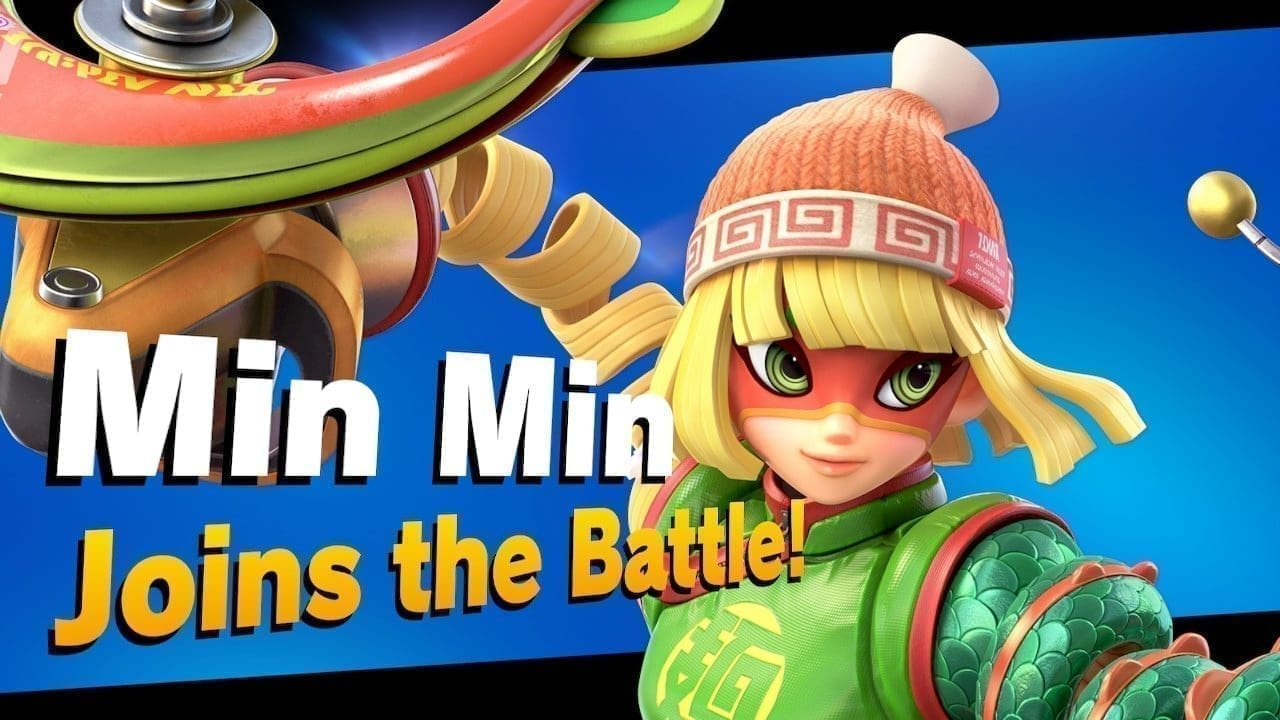 Super Smash Bros. Ultimate Min Min DLC