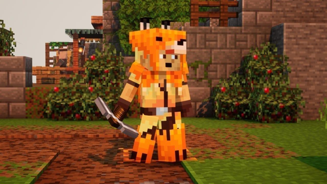 Minecraft Dungeons Fox Armor