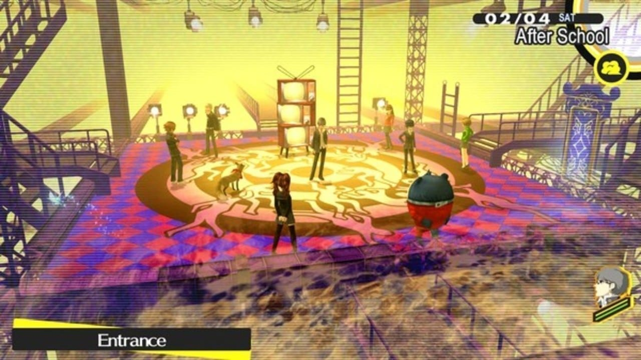 Persona 4 Golden Laughing Table