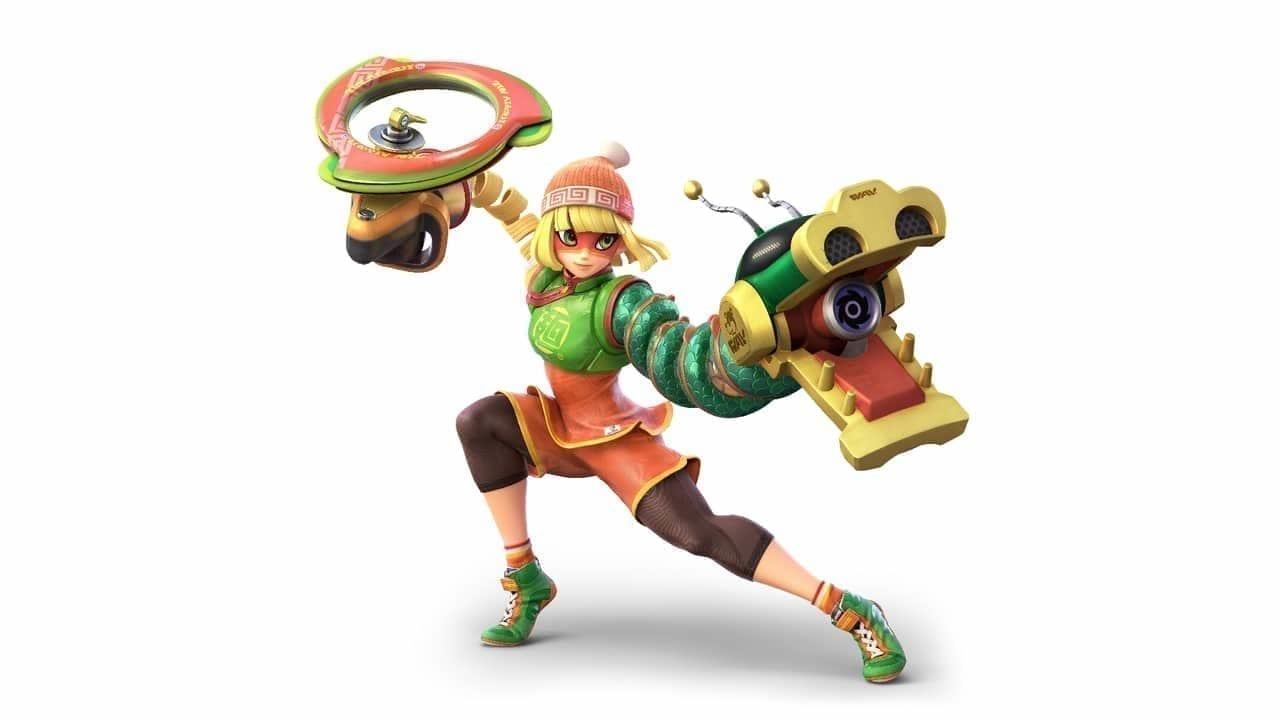 Super Smash Bros Ultimate Min Min Fighter