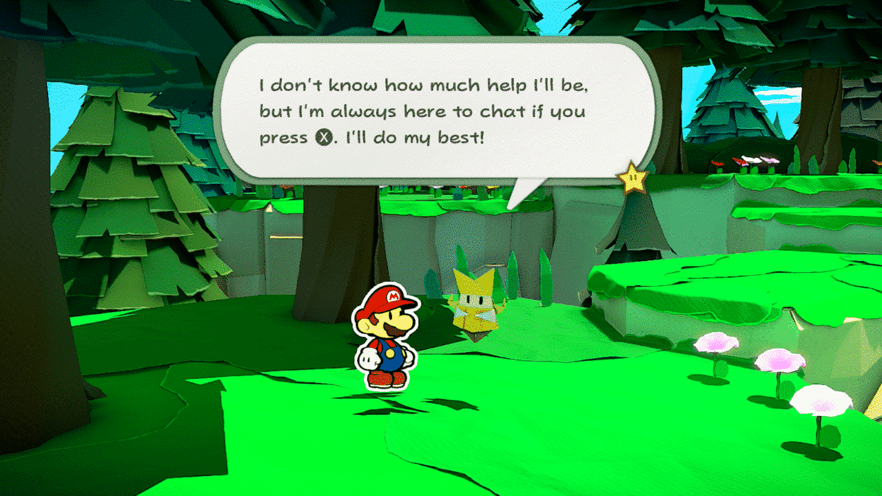 Paper Mario: The Origami King Olivia