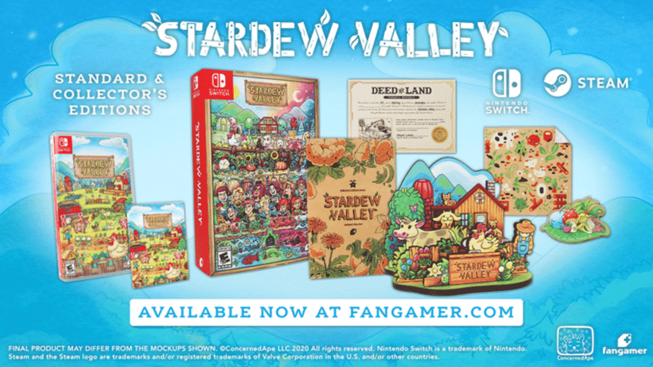 Stardew Valley Physical Release