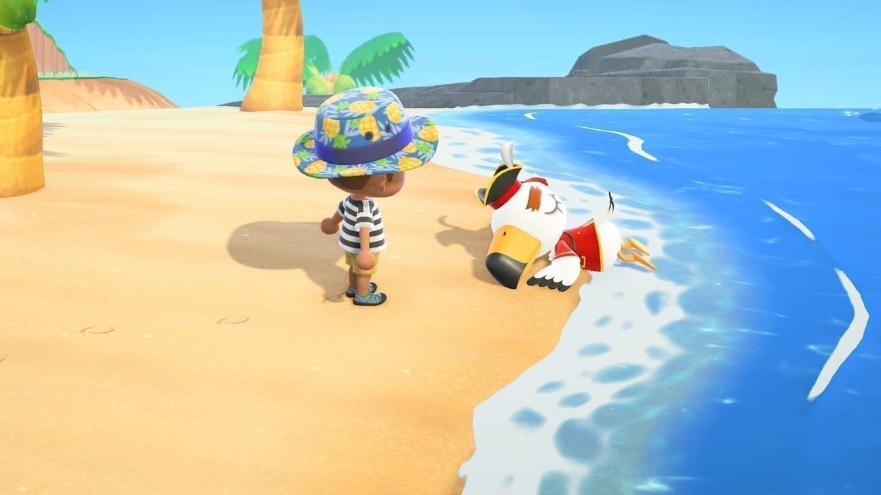 Animal Crossing: New Horizons Pirate Gulliver