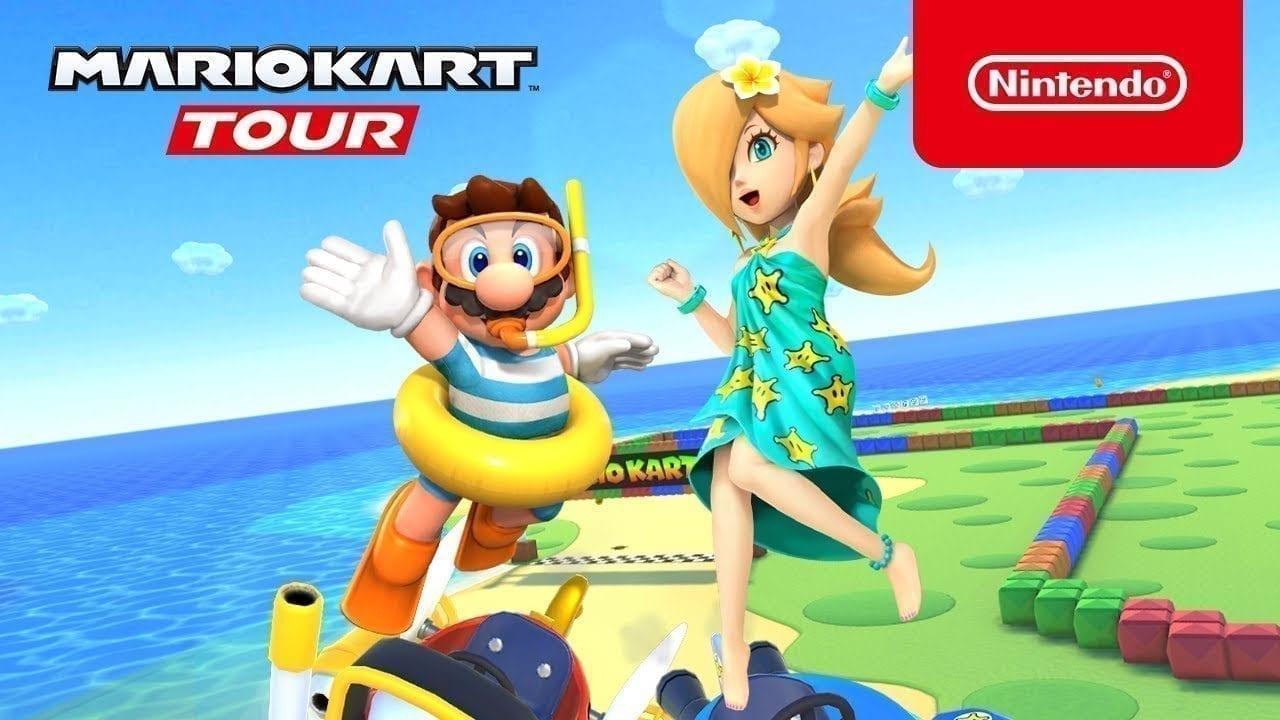 Mario Kart Tour: Marine Tour Splashes