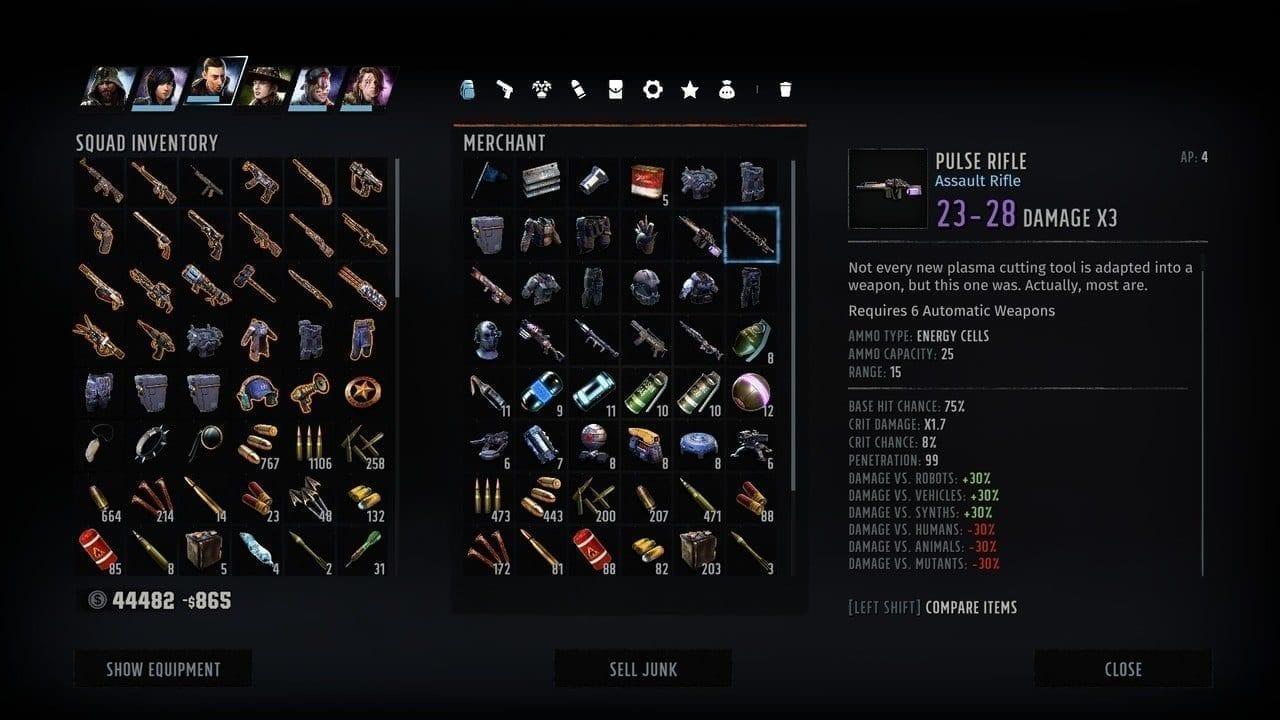 Wasteland 3 Pulse Rifle