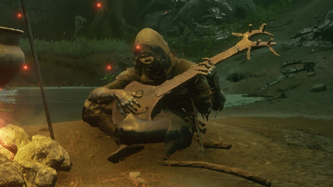 How to use the Simple Lute in Mortal Shell