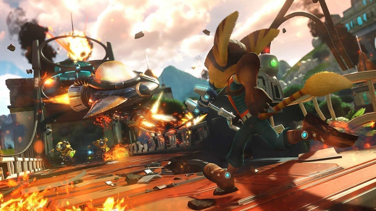 Are Ratchet and Clank games on PC?