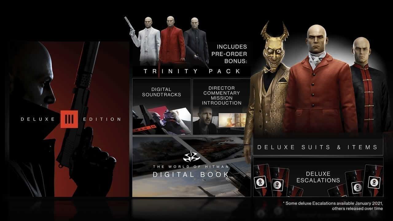 Hitman 3 special edition bundles