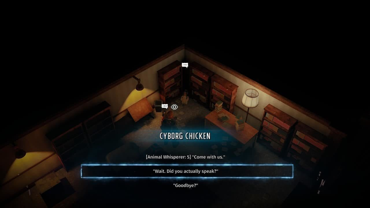 Patriarch's Bunker Cyborg Chicken