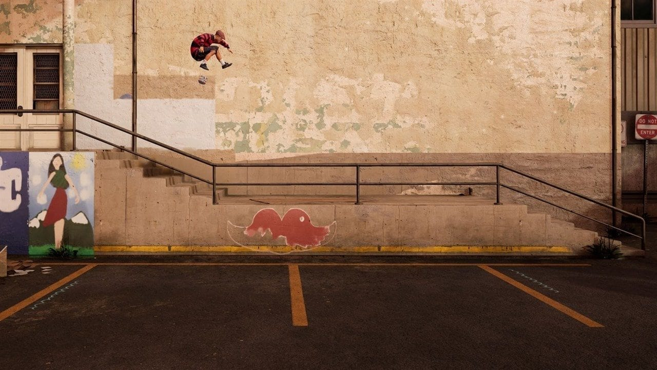 Tony Hawk Pro Skater Wall Ride Trick