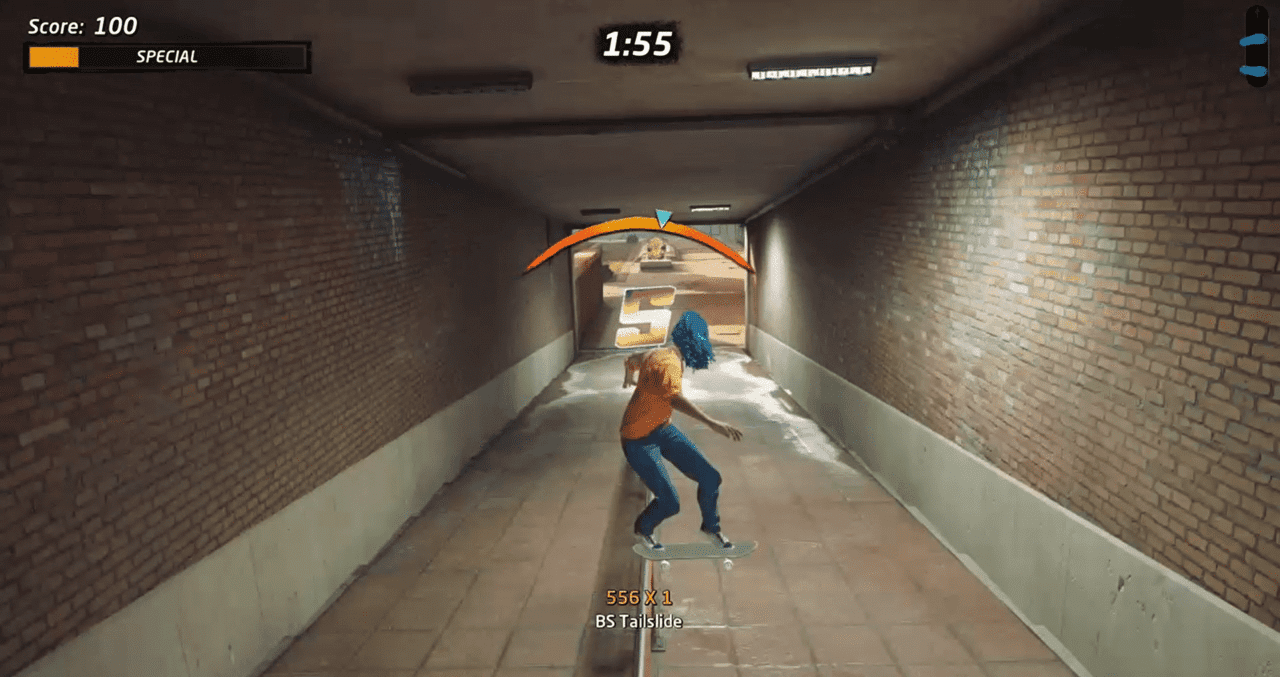 How to perform a Tailslide in Tony Hawk's Pro Skater 1 + 2