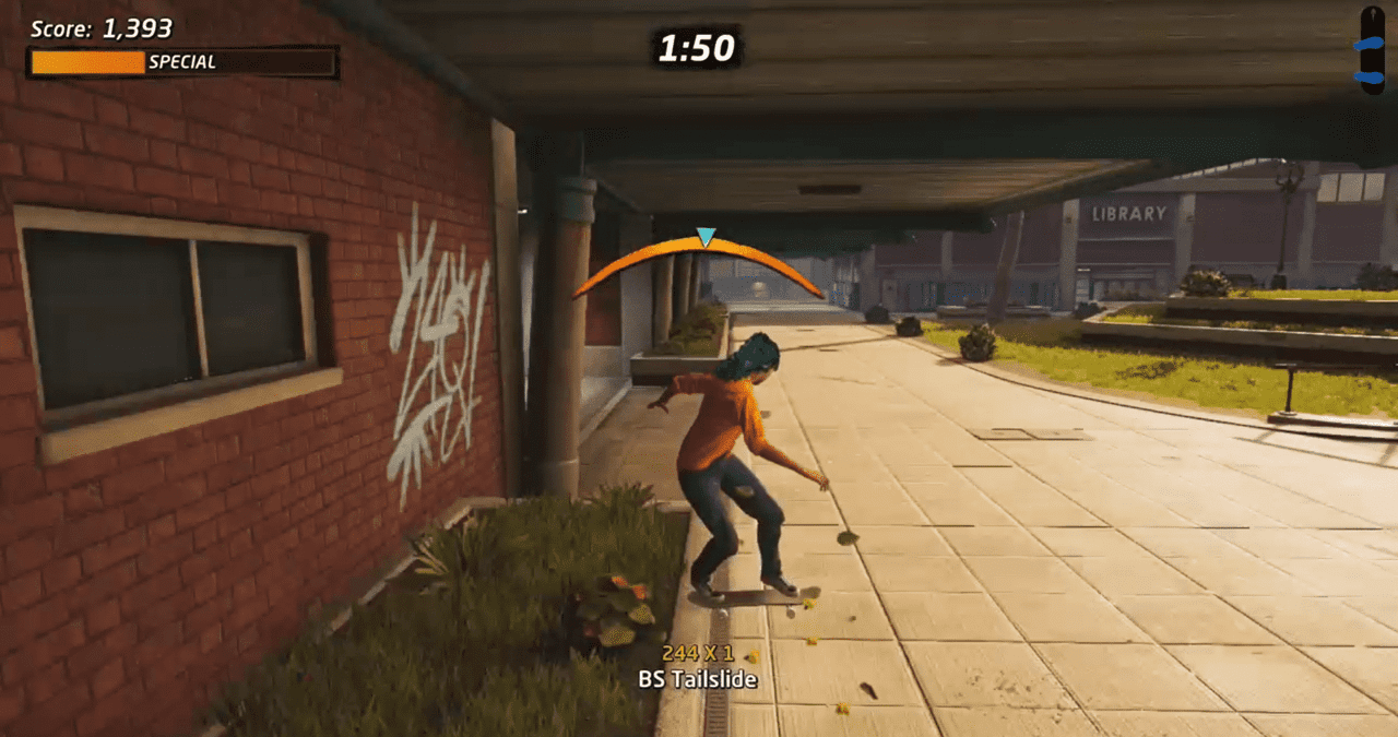 How to Tailslide in Tony Hawk's Pro Skater 1 + 2