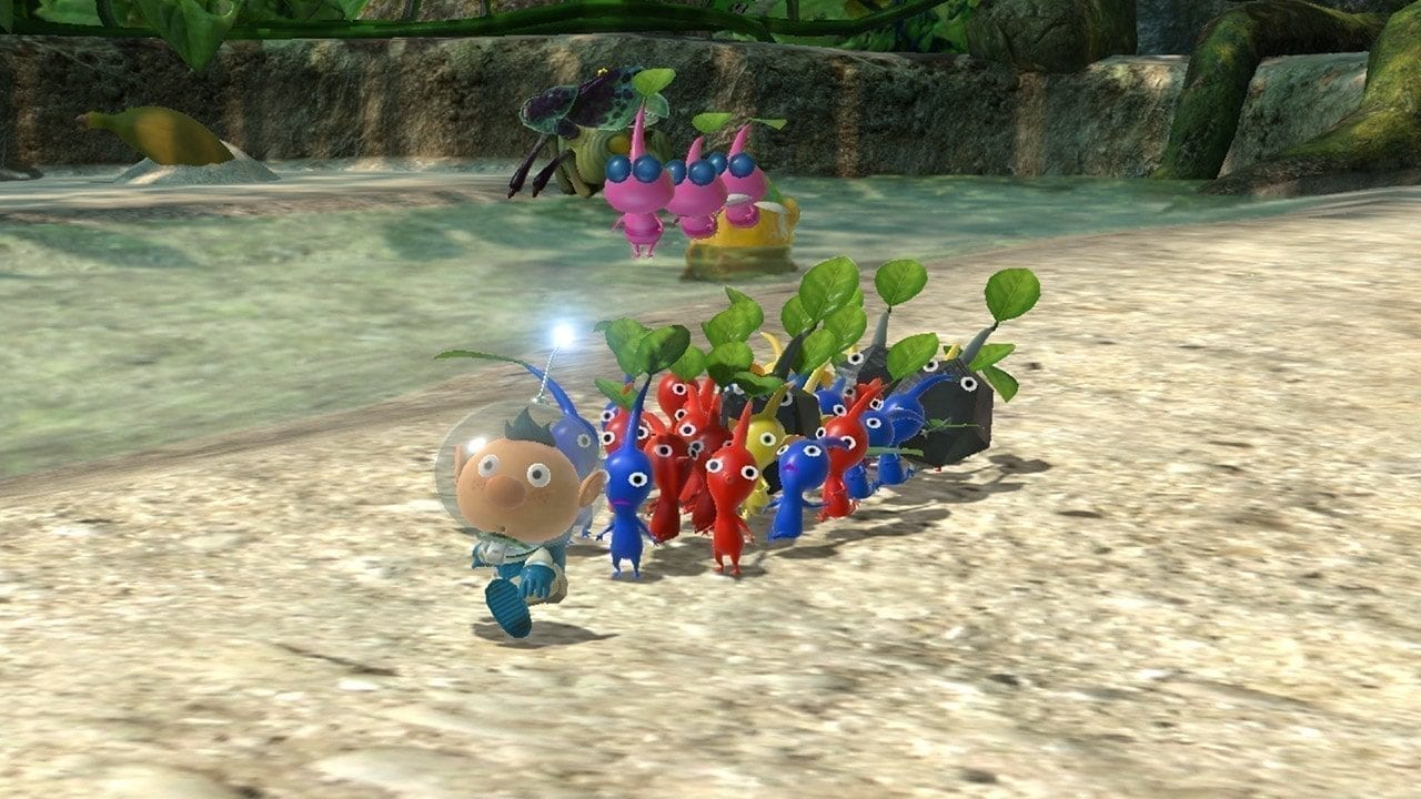 Pikmin 3 Deluxe Suit Upgrades