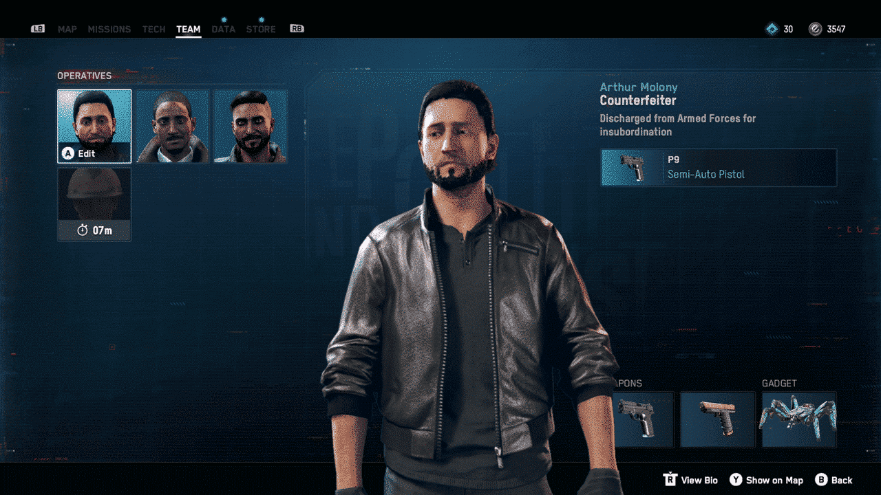 Watch Dogs: Legion How to Change Characters