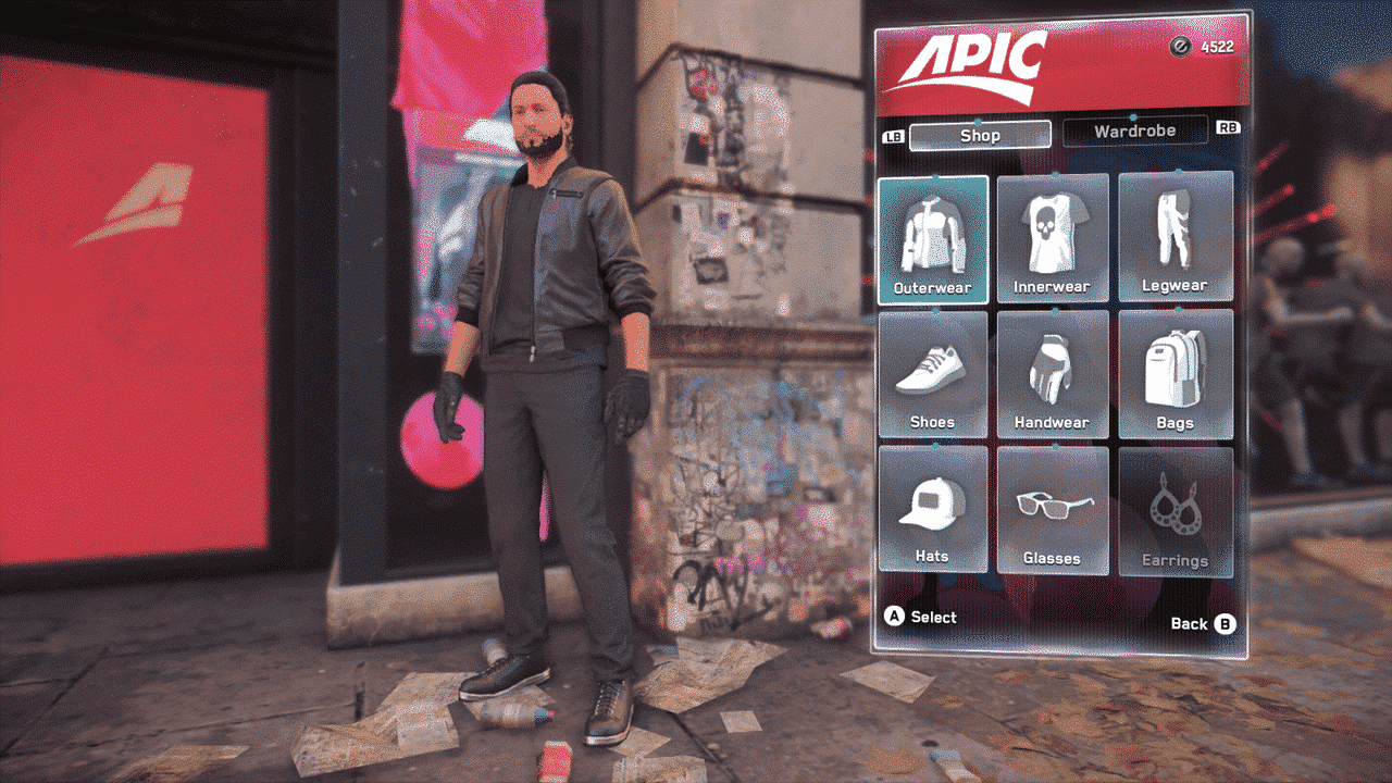 Watch Dogs: Legion Clothing Stores