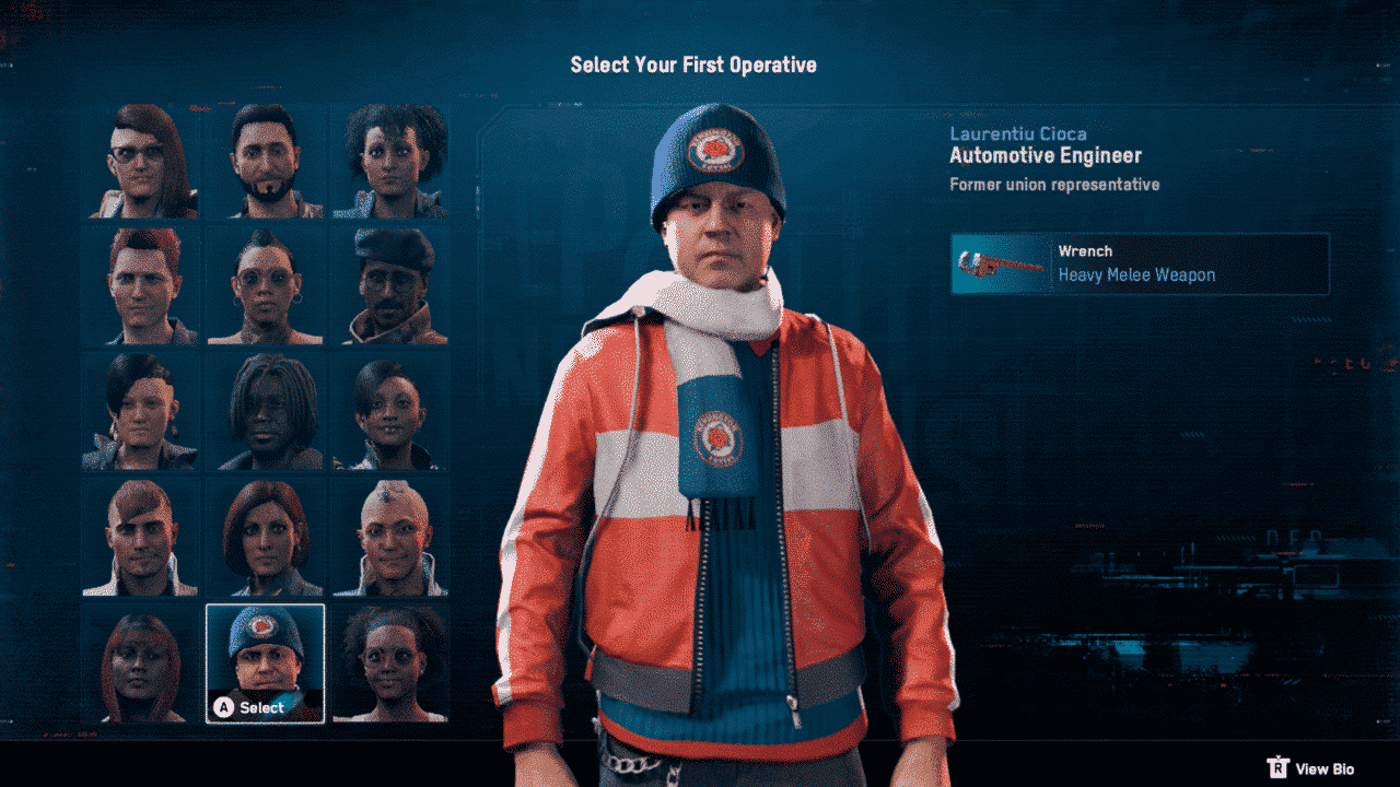Watch Dogs: Legion First Operative