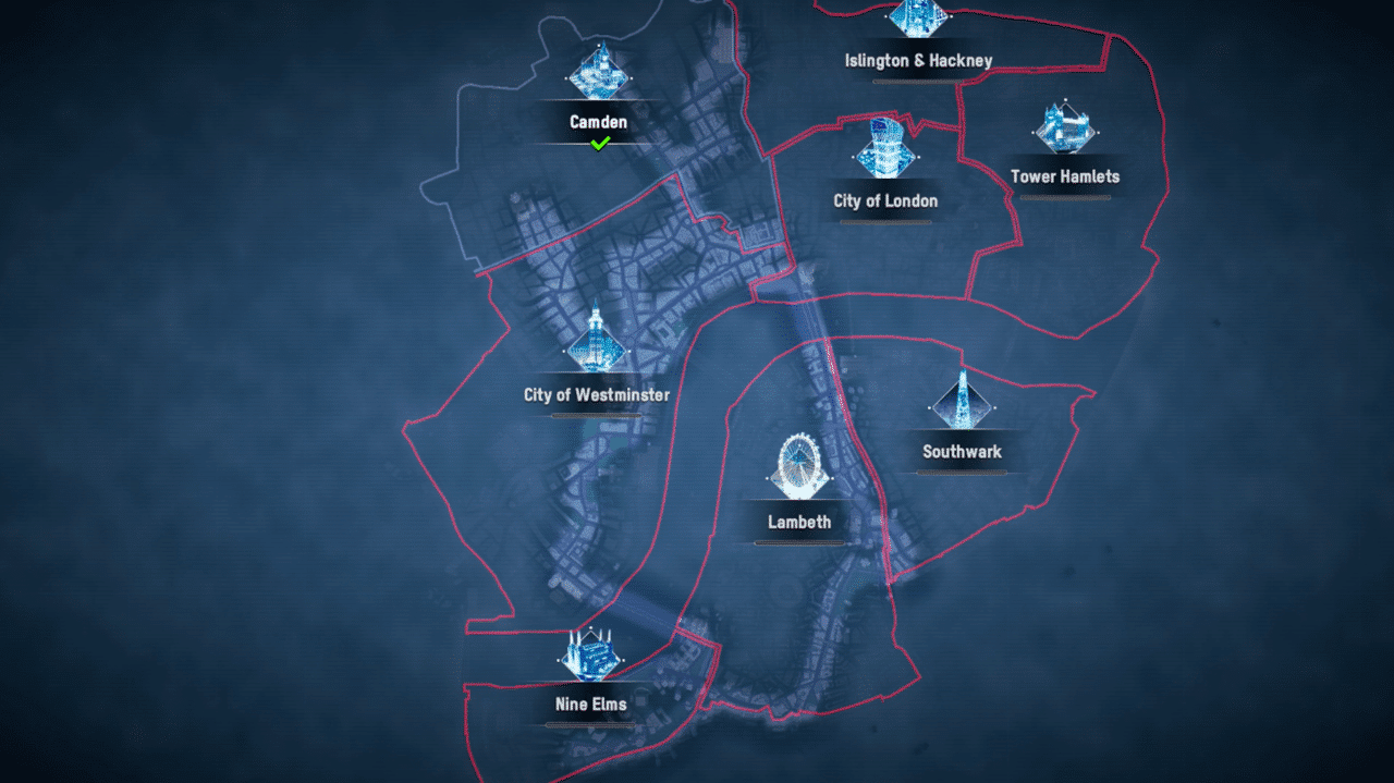 Watch Dogs: Legion Map Size