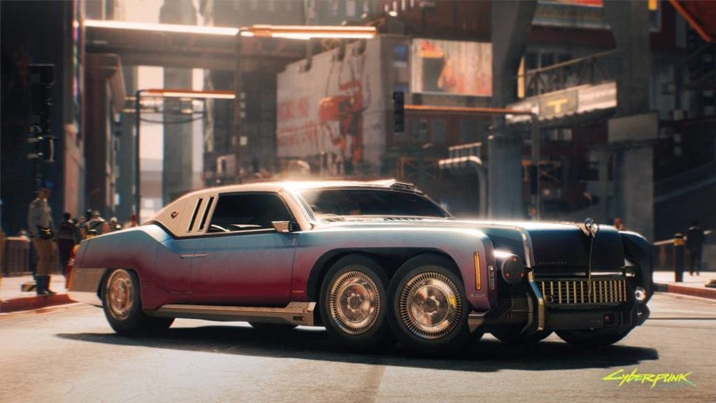 Best free cars Cyberpunk 2077