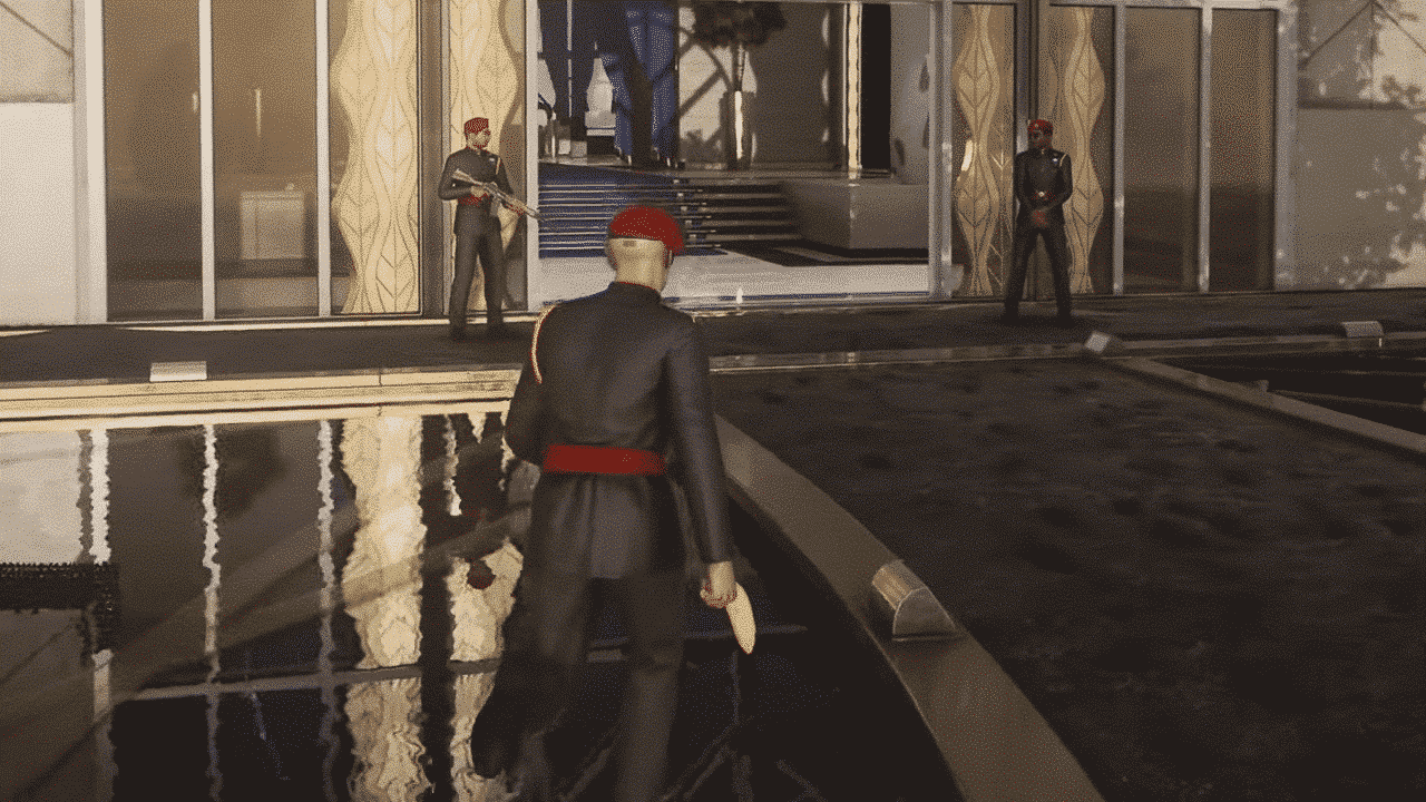 Hitman 3 - how to complete flying monkey business